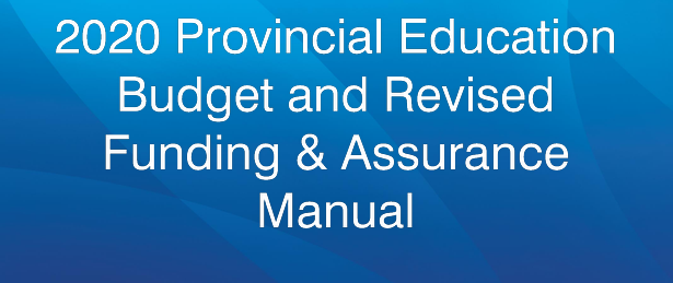2020  Budget and Revised Funding & Assurance Manual